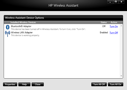 HP Wireless Assistant 4.0