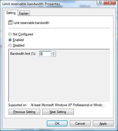 How to Increase Internet Speed in Vista/Windows 7 | Computer
