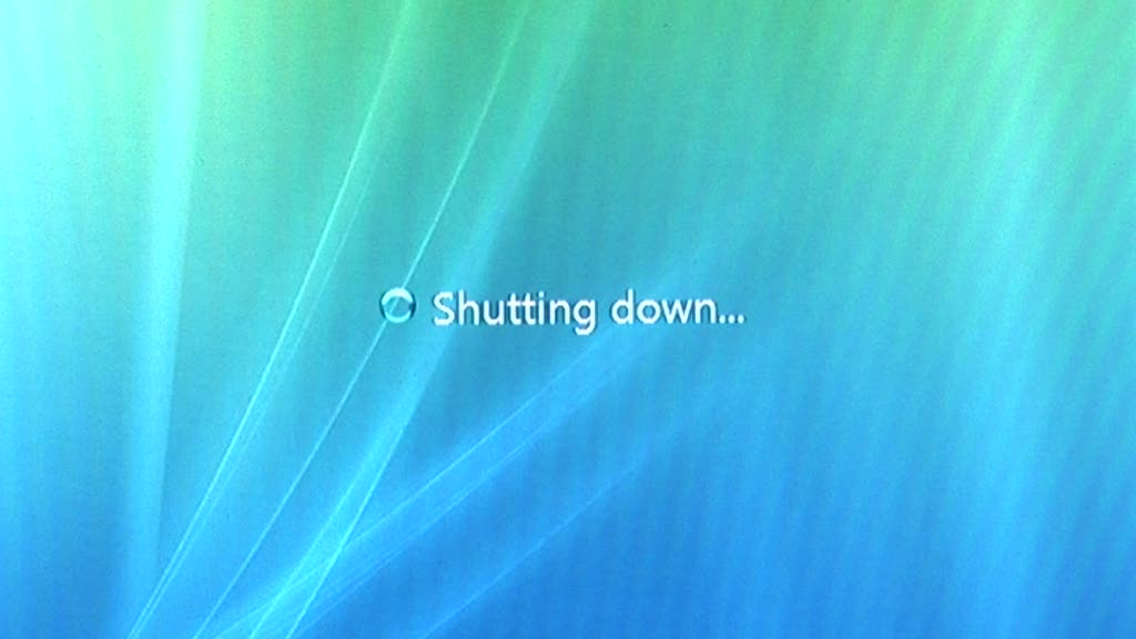 Enable fast shutdown in windows 7 and windows vista for Window off screen