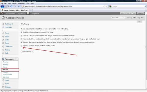 Twitter WordPress Configuration